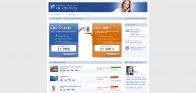 Auxmoney Geld Verleihen